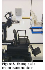 Figure 3.  Example of a proton treatment chair