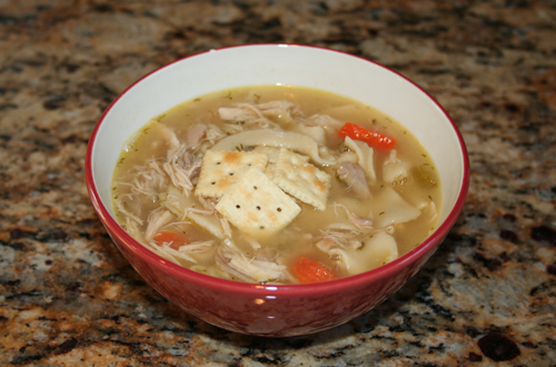 OncoLink Recipe - Chicken Soup with Ginger